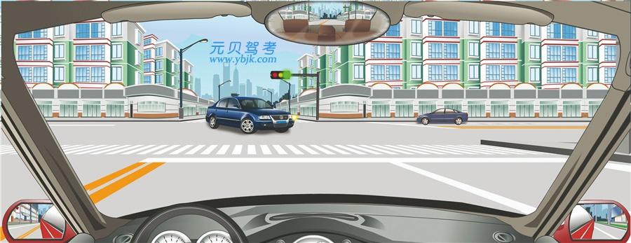 驾驶机动车在交叉路口遇到这种情况可以不让行。答案是错