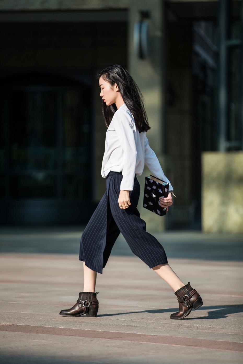 [Ava搭配周记]一衣多穿之设计感裙裤 - AvaFoo - Avas Fashion Blog