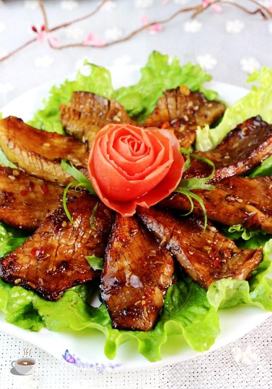 比肉还香的私房酱汁煎杏鲍菇 - 叶子的小厨 - 叶子的小厨