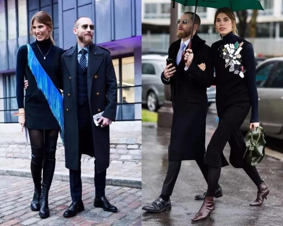 开眼 | 街拍圈也有神仙眷侣 - toni雌和尚 - toni 雌和尚的时尚经