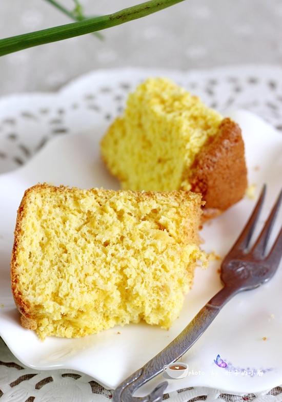 低糖无油橙肉蛋糕 - 叶子的小厨 - 叶子的小厨