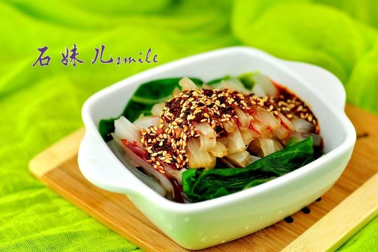 香辣酸甜的爽口小清新——凉拌厚皮菜 - 慢美食 - 慢 美 食