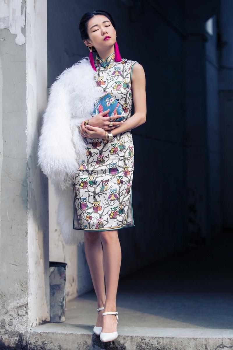 [Ava搭配周记]流苏旗袍表达中国风 - AvaFoo - Avas Fashion Blog