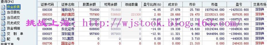 1月19日   操盘实录--期指跌停! - 挑战上海 - 操盘实录