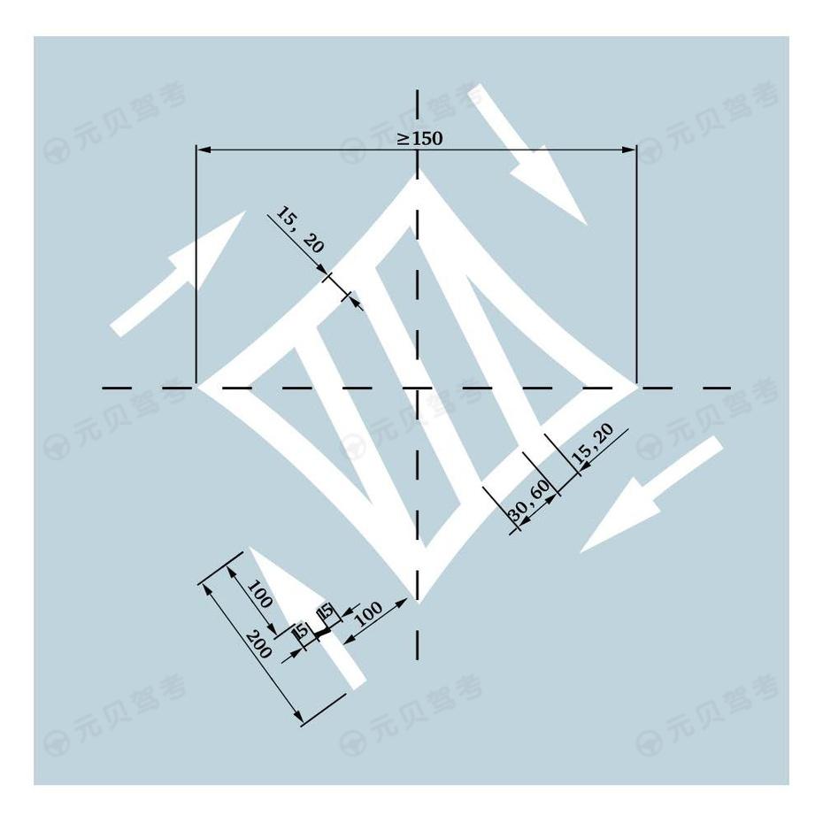 菱形中心圈