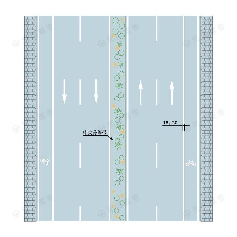 车行道边缘线2