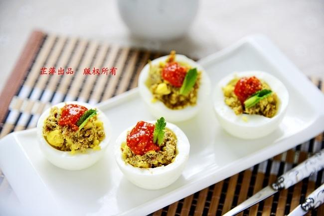 简单食材打造贵族气质——鲮鱼蛋杯 - 慢美食 - 慢 美 食