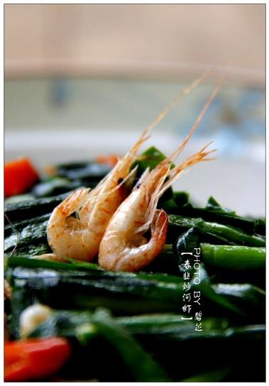 【春韭炒河虾】不时不食的春滋味 - 慢美食 - 慢 美 食