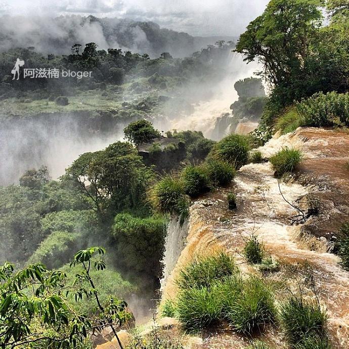 伊瓜苏大瀑布 世界最宽瀑布 - H哥 - H哥的博客