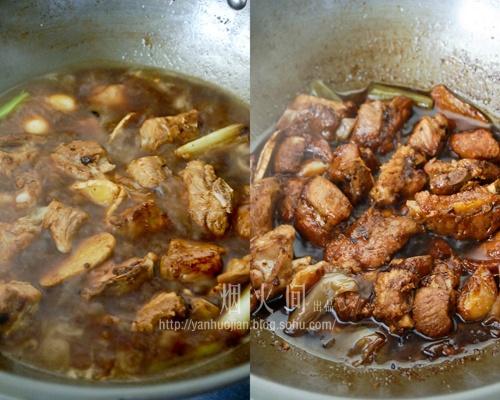 酱香浓郁下饭菜——【蒜蓉豆豉酱烧排骨】 - 慢美食 - 慢 美 食