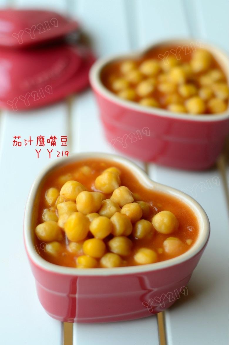 简单易做的百搭小菜——【茄汁鹰嘴豆】 - 慢美食 - 慢 美 食