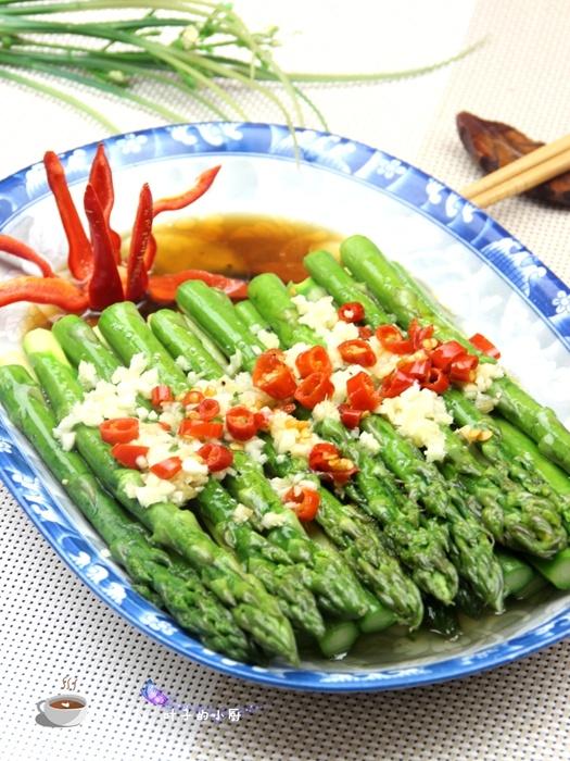 【防春困美味食谱】响油芦笋 - 慢美食 - 慢 美 食