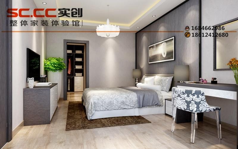 169平米装修-现代简约风格装修效果图-卧室装修设计