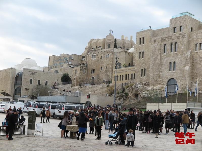 哭泣的西墙--耶路撒冷(1)_图1-4