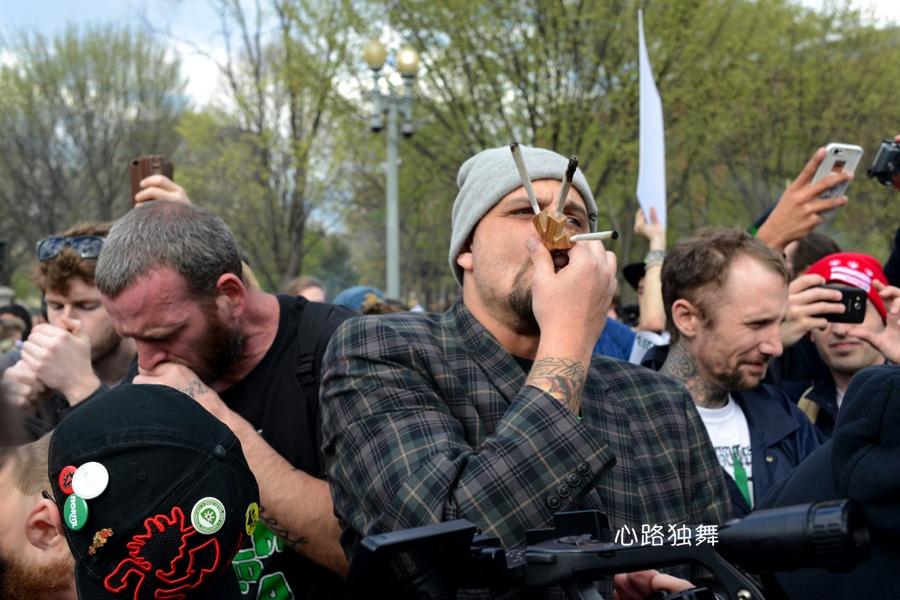 实拍:到白宫前集体抽大麻去 - 风帆页页 - 风帆页页博客
