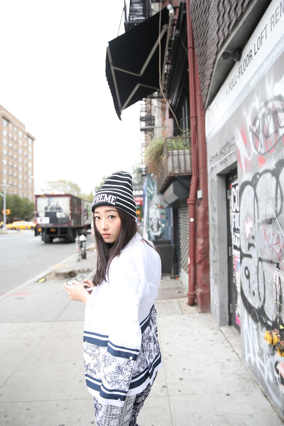 【纽约·梦游记】蒋梦婕西装演绎中性风 Freshboy时装周独家镜头日记 - 嘉人marieclaire - 嘉人中文网 官方博客