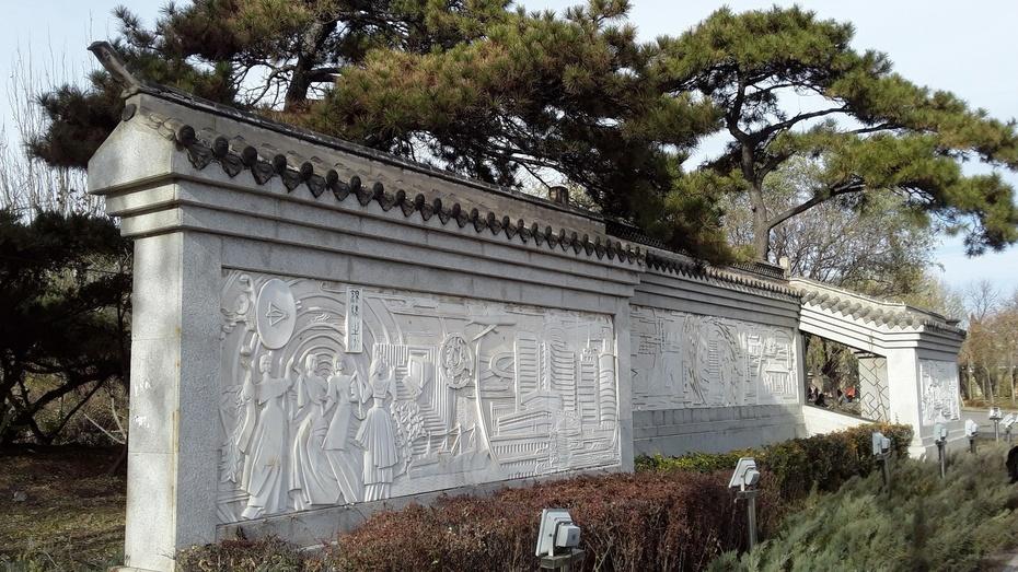锦州行:古塔公园 - 淡淡云 - 淡淡云