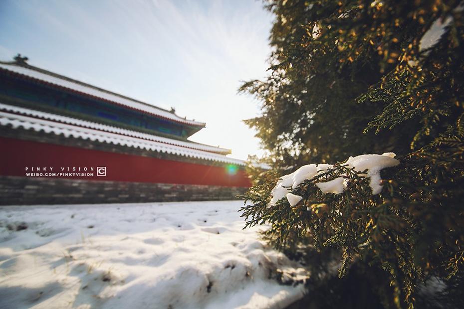雪落天坛寂无声 - 海军航空兵 - 海军航空兵
