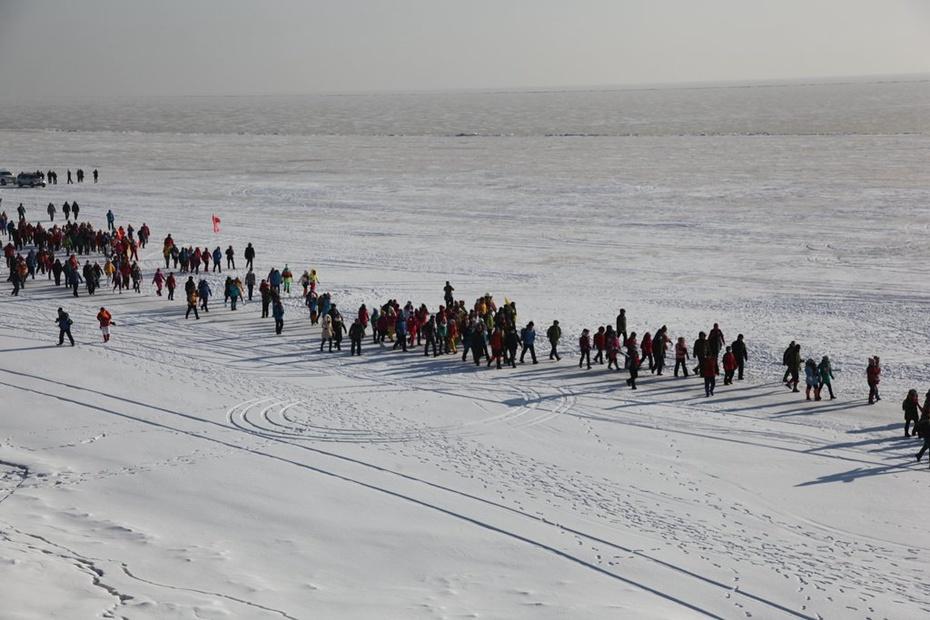 千人徒步兴凯湖 - 余昌国 - 我的博客