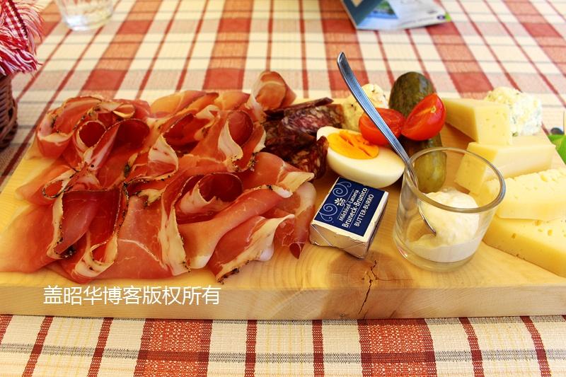 意大利高山上的纯净美食 - 盖昭华 - 盖昭华的博客