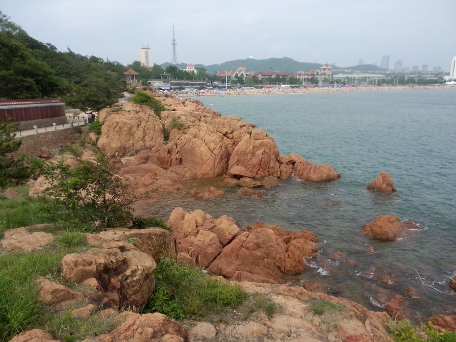 迷人的青岛海滨