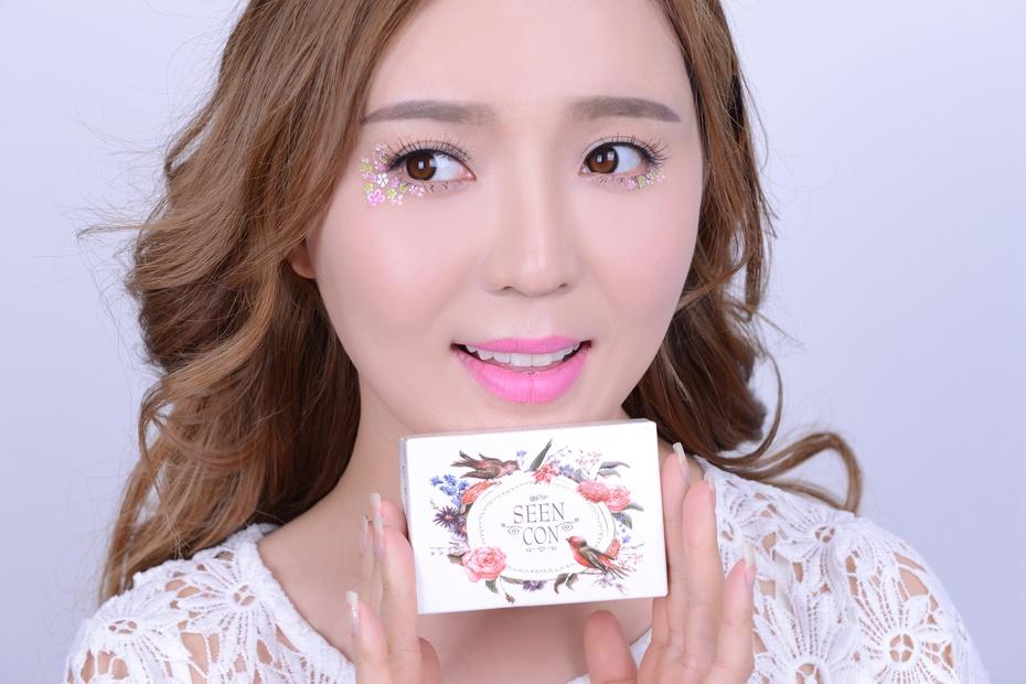 【袁一诺vivian】画一款浪漫缤纷花young妆,让眼妆开出花朵~ - 小一 - 袁一诺vivian