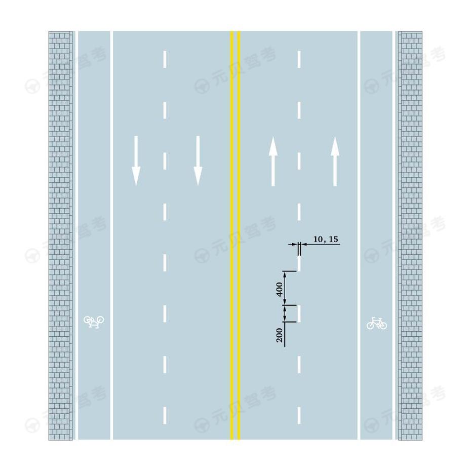 车行道分界线2