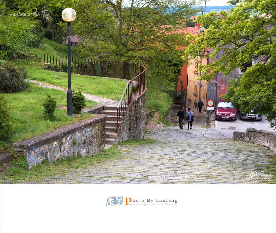 【伊斯特拉】极富传奇色彩的城市拉宾 - 蓝风 - 蓝风的图像家园