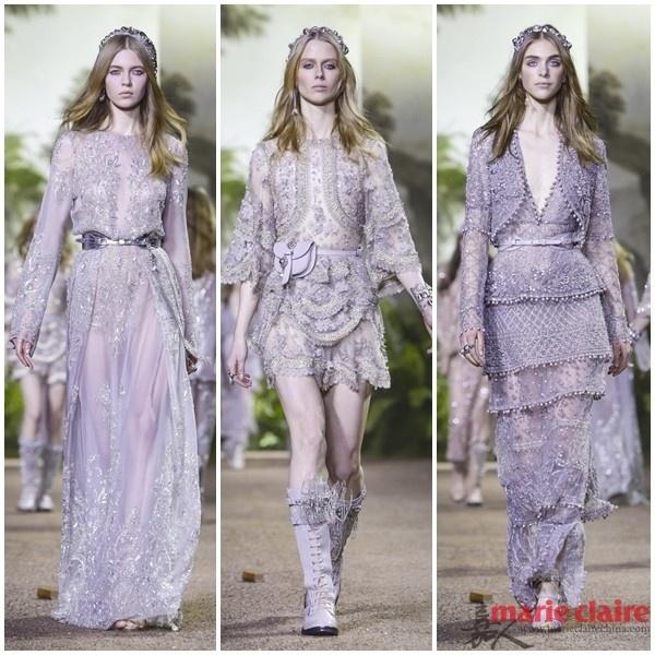 女星们新一季的红毯礼服来啦 ELIE SAAB的仙女们走进了原始森林 - 嘉人marieclaire - 嘉人中文网 官方博客