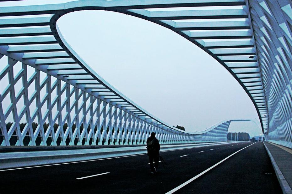 温榆河上新桥美,梦幻造型向未来 - 侠义客 - 伊大成 的博客
