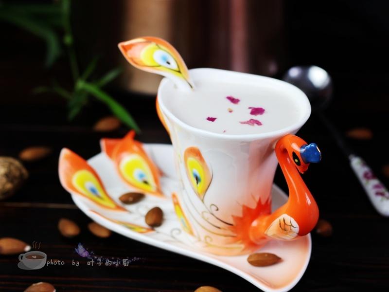 自制核桃杏仁露 - 叶子的小厨 - 叶子的小厨