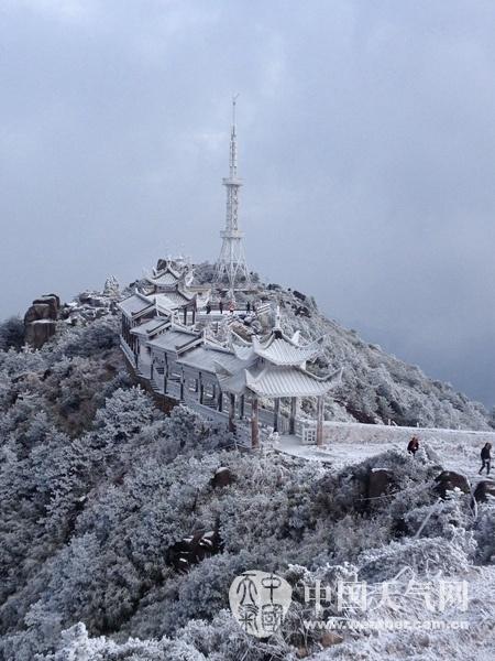 霸王级寒潮下的中国景象6 - 古藤新枝 - 古藤的博客