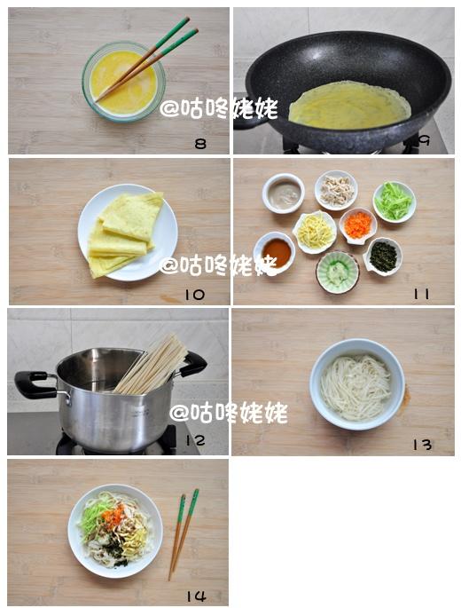 【鸡丝麻汁凉面】: 盛夏餐桌上的佳品 - 慢美食博客 - 慢美食博客 美食厨房