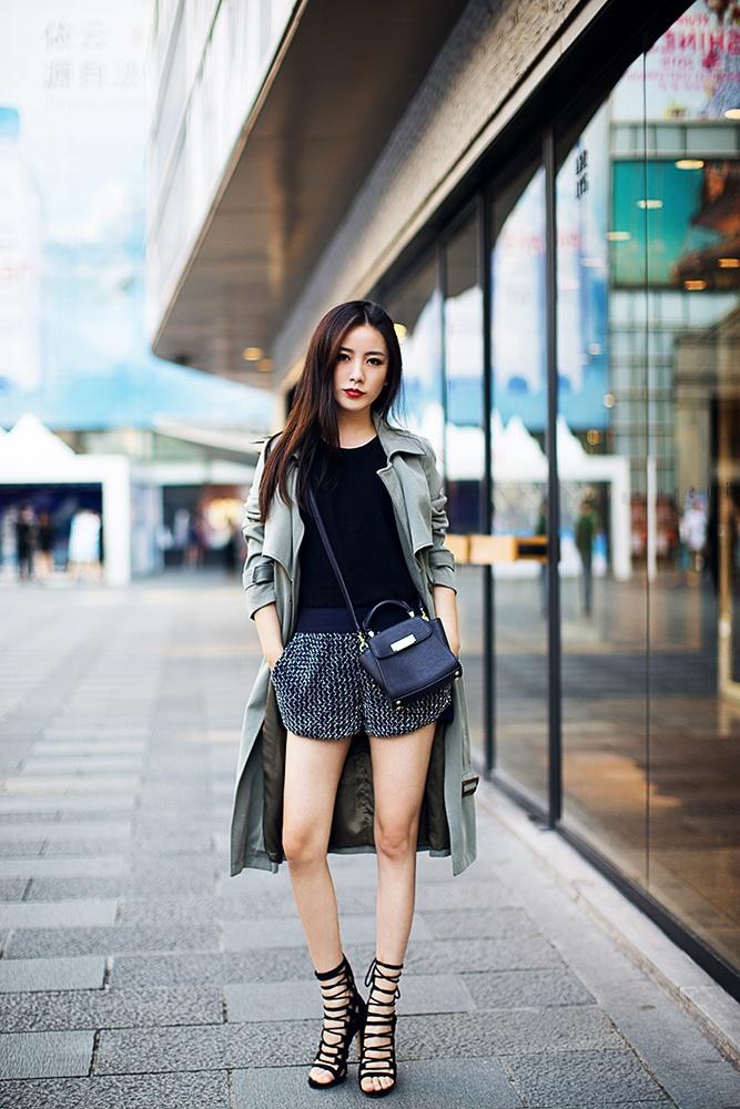 【别被忽悠】我们小个子也能把长风衣穿得有型有范 - Nikki妮儿 - Nikkis Fashion Blog