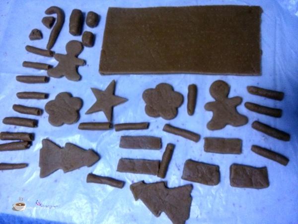 姜饼咖啡屋 - 叶子的小厨 - 叶子的小厨