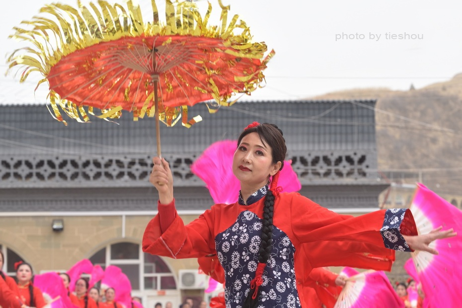 陕北风情(20)—— 印斗大秧歌_图1-48