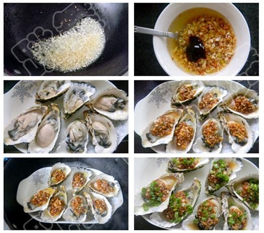 【黄金蒜蓉蒸生蚝】补肾美容的海上美味品 - 慢美食 - 慢 美 食