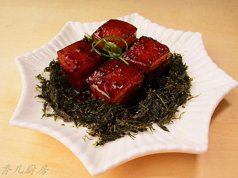 传统名肴--- 苔菜小方烤 - 慢美食 - 慢 美 食