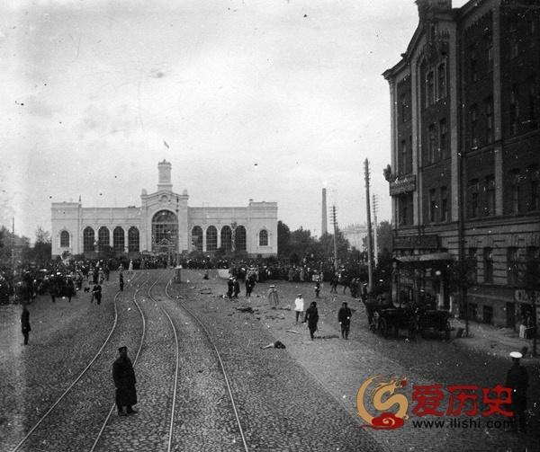 1904年俄内政部长被炸现场图 - 爱历史 - 爱历史---老照片的故事