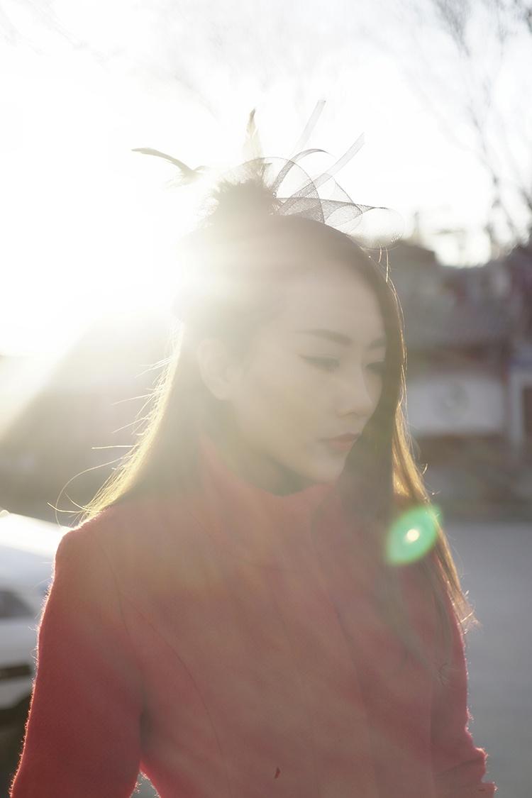 ★腻の搭配LOOK★逆光缭绕的中国红 - 林腻腻_Babe - 愛の尐情調