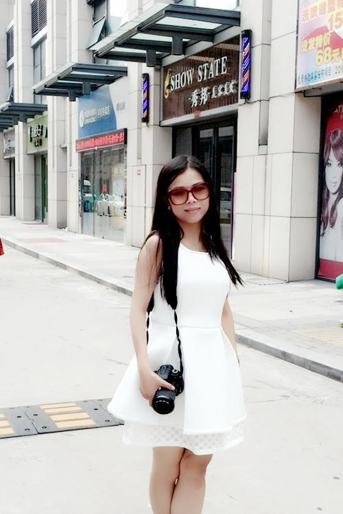 【馨馨520】时尚白色套装,我的早秋美搭 - 馨馨520 - 馨馨520