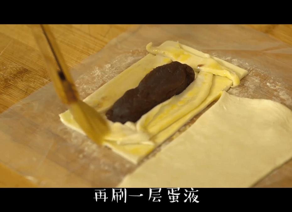 一个擀面杖就能完成的红豆派,健康有营养,孩子再也不去快餐店 - 蓝冰滢 - 蓝猪坊 创意美食工作室