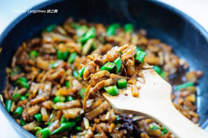 五花肉炒萝卜干 -- 很负责的下饭菜 - 荷塘秀色 - 茶之韵