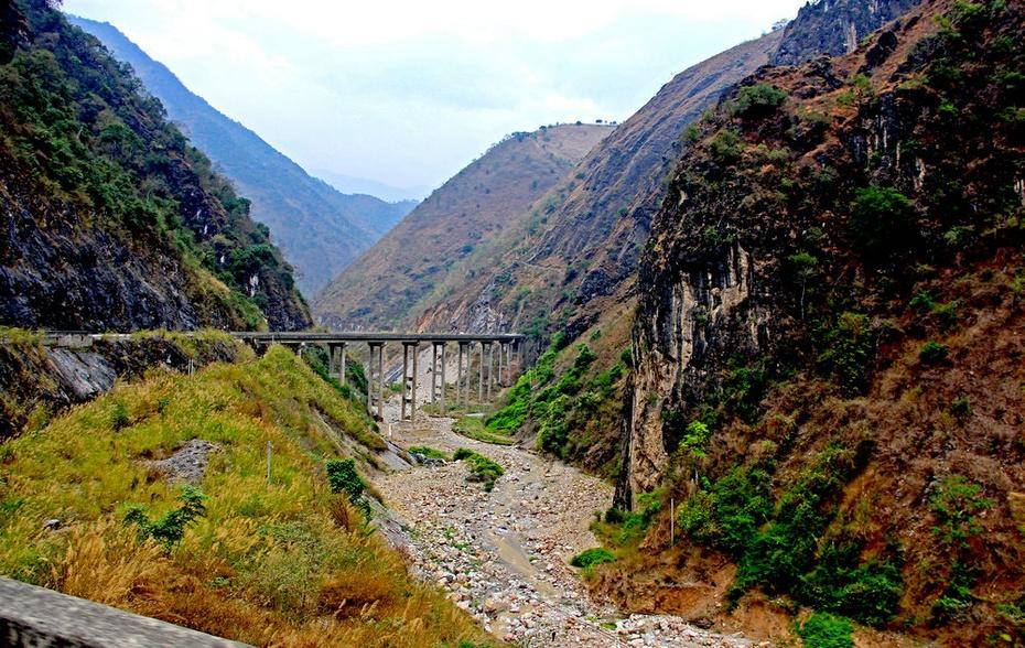 山险谷深澜沧江,横穿山峡到怒江--云南剑川游之八 - 侠义客 - 伊大成 的博客
