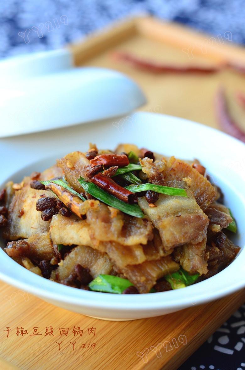 椒脆豉香的下饭菜——【干椒豆豉回锅肉】 - 慢生活美食客 - 慢生活美食客
