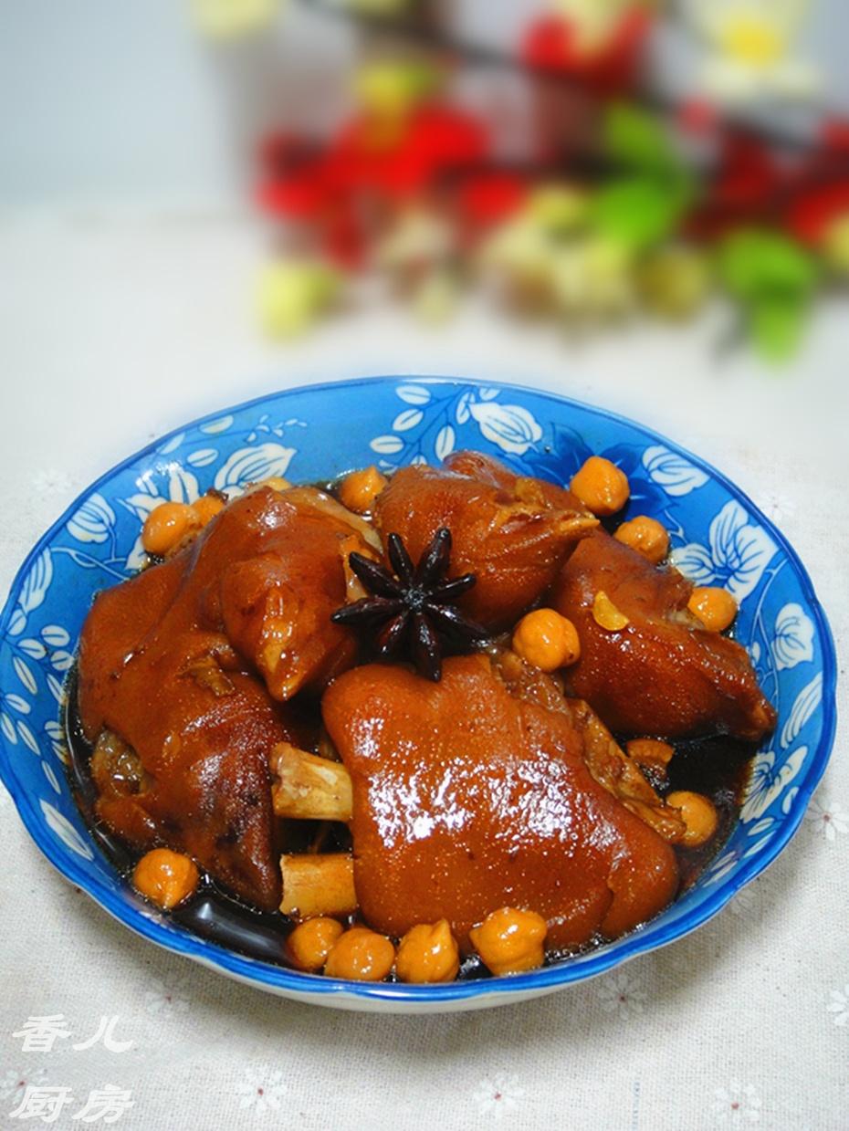 食补美容佳品----鹰嘴豆炖猪蹄 - 慢生活美食客 - 慢生活美食客