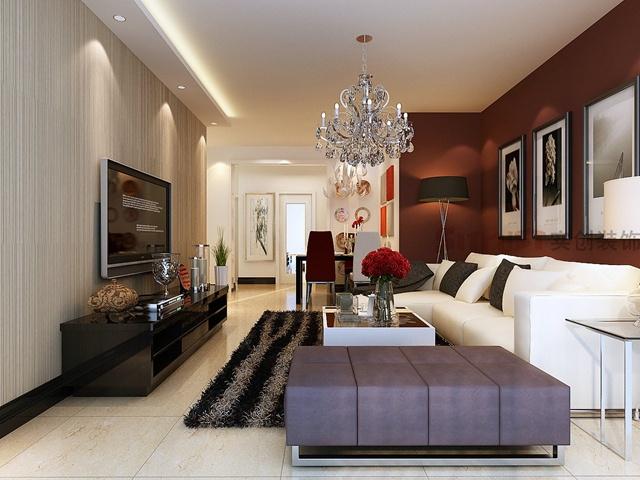 天津实创装饰 低调奢华有内涵的现代简约风格装修效果图赏析