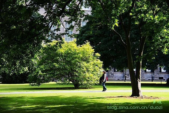 欧洲行21:走进爱尔兰最古老的大学 - 余昌国 - 我的博客