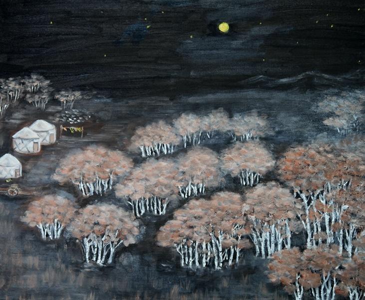 崔文春绘画作品 - 小马马倌 - 小马马倌的博客