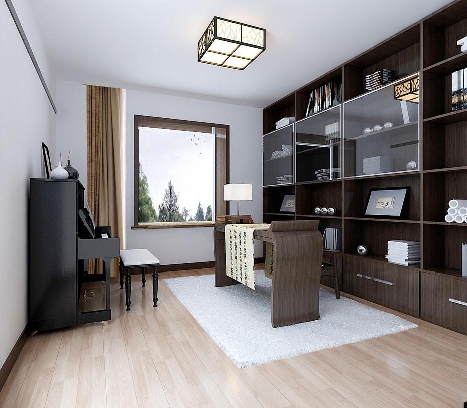 家居 起居室 设计 书房 装修 930_813